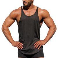 Muscleguys Mens 캐주얼 루스 피트니스 탱크 탑 남성 여름 오픈 사이드 민소매 액티브 근육 셔츠 조끼 언더 셔츠