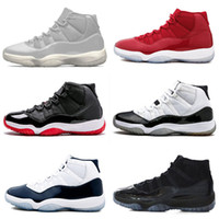 jumpman 11 XI 11s High Concord 45 Midnight Navy Gown Gym Red...