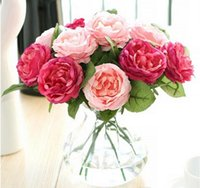 Silk flowers for wedding artificial flower wedding bouquet r...