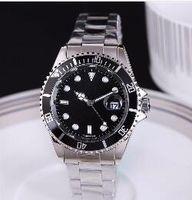 Классическая атмосфера хороший перспективных бизнес Швейцария ежегодные взрывы высокого класса мужские часы моды роскошь черный циферблат календарных мужские часы