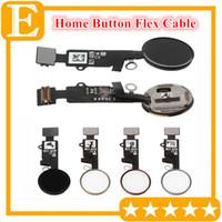 Botón de inicio Flexión del cable de cinta para iPhone 7 8 8G más tecla de inicio flex Piezas de repuesto