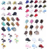 Yıkanmış At Kuyruğu Beyzbol Şapkası Dağınık Börekler Şapka Yıkanmış Pamuk Unisex Visor Kap Şapka Açık Snapbacks Caps GGA3506