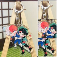 New Lovely Cartoon Anime Nuovo Academia My Hero Academi Keychain acrilico Portachiavi regalo di fascini