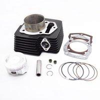 Motorradzylinder Kit für 169FMM CB250 CB 250 250cc off Road Dirt Bike Kayo CQR Motor Ersatzteile