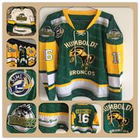 Custom Мужские трикотажные изделия Humboldt Хоккей Тайлер МакФерсон 18 #Humboldtstrong 3 LABELLE Сшитое хорошее качество Любое имя Количество Размер S-XXXXL