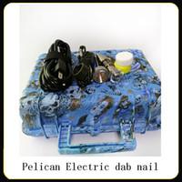 Kit de uñas Pelican E Digital eléctrica uñas Dab conjunto DNail universal para tubo de agua de titanio 10 16 20 mm Bong Ecigs vaporizador Kit