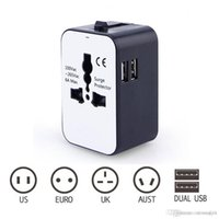 Universal Power Plug Travel Converting Adapter With 2USB Mul...
