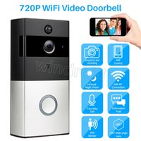 Home Video Campanello senza fili V3 720P HD Wifi Video in tempo reale Audio bidirezionale Visione notturna Rilevazione movimento PIR con campane Controllo APP + suoneria