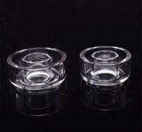 Replacement OD 22 25mm quartz dish E 100% titanium nail coil accessories bowls for mini glass bongs oil rigs