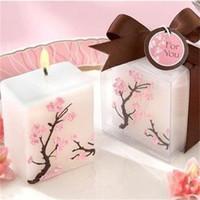 Derniers modèles anniversaire bougies Cerisier Styles de mariage Bougie sans fumée parfumée cire de la partie intérieure Salle 2 7hm E1 Décor
