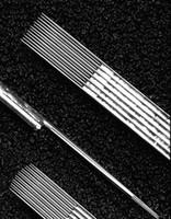 5 قطع متنوعة إبر الوشم معقمة 7/9/11/13/15RM شحن مجاني agujas microblading naalden ماكياج دائم