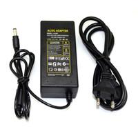 12V 5A 60W 전원 공급 장치 LED 드라이버 변압기 AC100-240V LED 스트립 용 DC12V 전원 어댑터