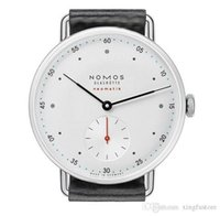 High Quality NOMOS minimalist leather wristwatch band for me...