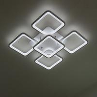 Remote Modern LED Deckenlichter Leuchten für Schlafzimmer Esszimmer Acryl Lampenschirm Dimmable 15-25 Meter Lamparas de Techo