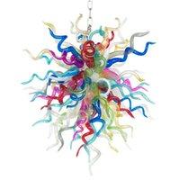 램프 현대 샹들리에 조명 led 빛 손에 날아 샹들리에 아트 장식 베네치아 유리 펜 던 트 조명