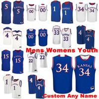Kansas Jayhawks Formalar Silvio De Sousa Jersey Agbaji McCormack Udoka Azubuike Lightfoot Koleji Basketbol Formaları Erkek Özel Dikişli