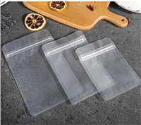 Multi Size Frosted Surface Clear Plastic zip lock packaging ...