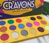 Il trucco degli occhi gamma di colori dell'ombra scatola di pastelli Eyeshadow Palette iShadow 18 luccichio di colore opaco della gamma di colori consegna gratuita