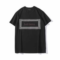 20ss Men Shirt Mens di estate supera i T Uomini manica corta e Donne magliette casual Mens Streetwear Abbigliamento taglie S-2XL