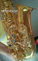 Nuovo Sassofono Alto Giappone Yanagisawa W01 Sax Strumenti in ottone placcato Golden Strumenti di ottone musicale Musica Sassofone professionale Trasporto libero