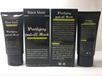 عالية الجودة الزبائن المزيفون قشر قبالة أقنعة الوجه التنظيف العميق الأسود MASK 50ML البثرة الوجه الأعلى البائع الشحن المجاني