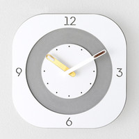 Wood Clocks Wall Home Decor Silent 3d Living Room Modern Bed...