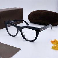 progettista di lusso donne occhiali da sole occhio Telaio di guida Eyewear Anti Reflection di retro modo miopia telaio marca famosa uomini Occhiali di gatto