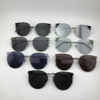Luxury-Desgin sunglasses-2019 جديد جنرال موتورز تقليد الموضة إطار لوحة معدنية بسيطة ومريحة لتنفيذ 60-16-145