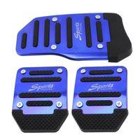 Automobile Foot Pedal Automobile Anti-Skid Педаль для ног Ручной блок / автоматический дроссельной заслонки Педаль тормоза Автомобильные принадлежности
