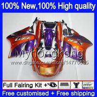 ZZR 1100 für Kawasaki ZX 11R ZZR1100 1993 1998 1999 2000 2001 orange lila 208MY.23 ZX11 ZZR1100 93 ZX11R 01 ZX11R 93 98 99 00 01 Verkleidungs