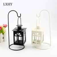 LXHY Retro Candles Holder Classical European Hanging Lantern...