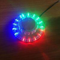 48Patterns RGB LED Disco Light 5V USB перезарядка RGB лазерная проекционная лампа лампы сценическое освещение шоу для домашней вечеринки KTV DJ танцпол