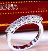 0. 7CT Solid 925 Sterling Silver Wedding Anniversary Brillian...