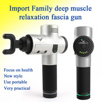 Nouvelle arrivee !!! Massage Gun Percussion Massager Muscle Vibrant relaxant Outils Therapy Fitness Trainer massag dispositif fascia Gun