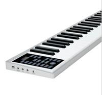 Портативный интеллектуальный электронный пианино 61 ключ электронный орган рулон ультратонкий многофункциональный электронный пианино