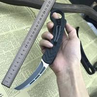 BM karambit otomatik kuş pençe bıçak D2 bıçak alüminyum kolu çift eylem açık soğuk çelik kamp EDC sağkalım OTO bıçak C07 UTX 85
