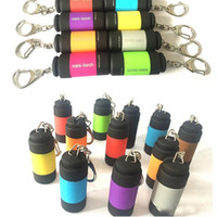 USB аккумуляторной Мини светодиодных Факелы карманной мини светодиодных фонари зарядной лампа брелок свет небольшого размер фонарик свет водить