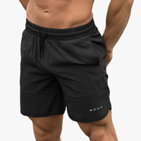 Summer Mens Gym Fitness Shorts Bodybuilding Run Jogging Work...