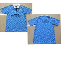 f7342b7903d Nesta 1991 Lazio Retro old version Soccer Jersey 1991 1992 Italy Lazio  IMMOBILE SERGEJ LULIC LUIS ALBERTO Maglie calcio XXL Football Shirt