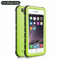 iPhone 7 6 6S 플러스 방수 PC + TPU 하이브리드 풀 보호 케이스 핸드폰 쉘에 대한 Shockproof 전화 케이스