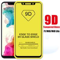 Film Pocophone Glass little Full Poco Protective F1 Xiomi Protector Mi f1 Mi8 9D for Pocofone Xaomi Glue Lite 8 1f Screen Xiaomi Ixmul