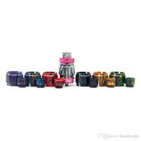 Colorido Resina tubo Kit Caps Capacidade Tubo Drip Tip Para vaporizador FreeMax malha Pro tanque de vidro Atomizador alta qualidade visual Capacidade DHL grátis