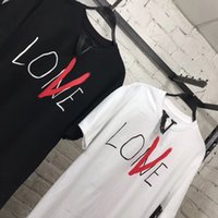 2019 T- shirts High Quality Casual Boy Girl Lovers T Shirt Re...