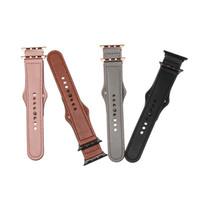 Cinta para a Apple Watch Band genuíno laço de couro 42 milímetros 38 milímetros pulseira para iWatch 38/42 milímetros 40/44 milímetros 4/3/2/1 Pulseira Acessórios