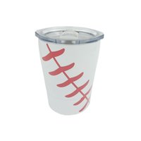 8. 5oz Mini Tumbler Baseball softball kids cups wine glasses ...