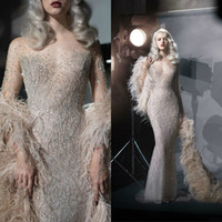 Paolo Sebastian Luxury Mermaid Prom Dresses 2019 Evening Gow...