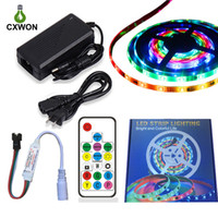 WS2811 12V RGB Pixel Kit include 5A Adapter 14keys Controlle...
