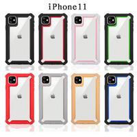 3 em 1 híbrido à prova de choque de telefone caso do iPhone Heavy Duty Armadura Capa para 11 XR XS MAX S10 S20 S10E A