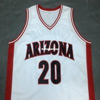 a3bd6e626bd New Arrival. Cheap custom DAMON STOUDAMIRE Arizona Wildcats White College  Jersey Embroidery Stitched Customize any size ...