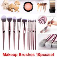 Make-up Pinsel 10 teile / satz Nass und Wild Kosmetik Pinsel Set Powder Foundation Blush Lidschatten Pinsel Kit